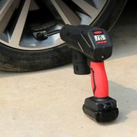 Portable Tire Inflator Auto Hand Held Air Pump Digital LCD Rechargeable Battery Dual Use Car Tires Electric Refill