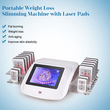 Lipo Laser 635nm Body Weight Loss Shaping Slimming Fat Machine Reduce Cellulite/diode Lipolaser Beauty Equipment device