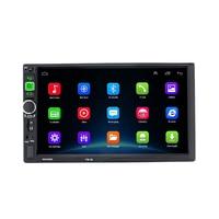 7916 android 8.1 carro multimídia player de vídeo estéreo carro mp5 jogador do carro wi fi internet inteligente 7 Polegada duplo eixo|Reprodutor de CDs| |  -