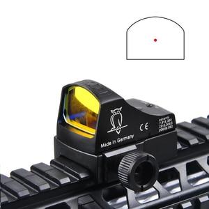 Image 3 - D III Sight Red Dot tüfek kapsam mikro nokta refleks holografik nokta Sight optik avcılık kapsamları Airsoft tüfek Mini nokta