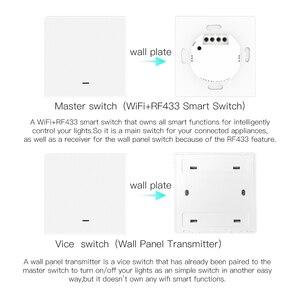 Image 4 - WIFI Smart Wall Light SWITCH RF433 เครื่องส่งสัญญาณ PUSH Button Smart Life Tuya APP รีโมทคอนโทรลทำงานร่วมกับ Alexa Google Home