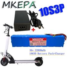 Новый оригинальный аккумулятор 36 в 22 Ач для скутера Xiaomi Mijia 36 В 22000 мАч аккумулятор для электрического скутера BMS + зарядное устройство