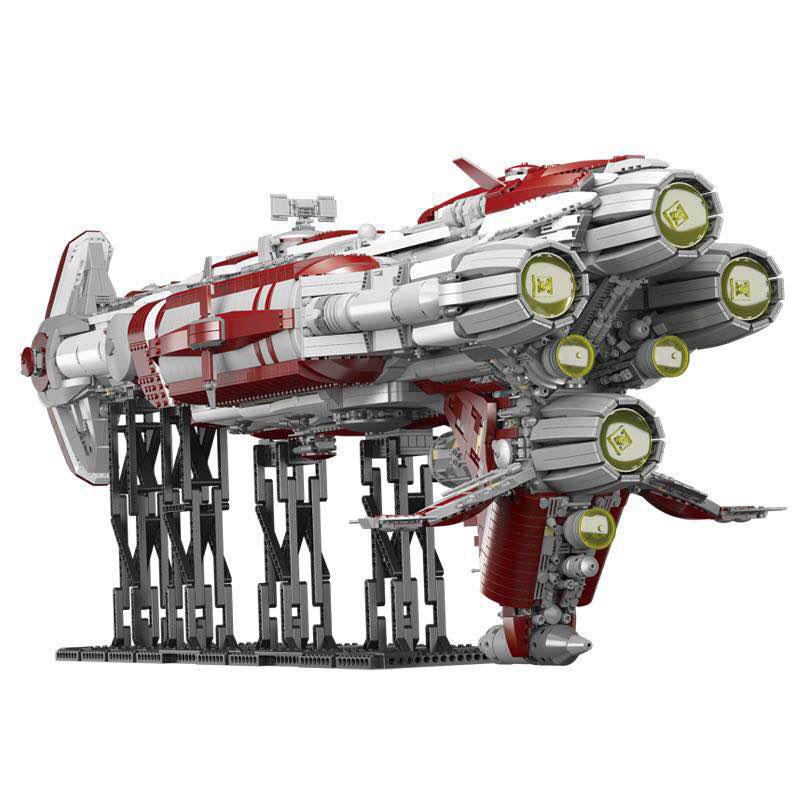 05079 Star Toys Wars The MOC Zenith Old Republic Escort Cruiser Model Compatible With Legoing Building Blocks Kid Christmas Gift 3