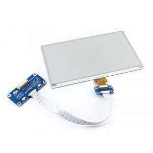 Image 3 - 7.5 polegadas e ink display hat 800x480 e paper módulo preto branco duas cores spi sem luz de fundo para raspberry pi 2b/3b/3b +/zero/zero w
