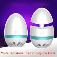Lâmpada Anti mosquito casa fotocatalisador assassino do mosquito mosquito repelente eletrônico de radiação livre CONDUZIU a lâmpada de controle de pragas|Iluminação Industrial| |  -