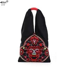 חדש בציר רקמה בוהמי כתף תיק שקיות נשים Boho Hippie הצועני נשים של תיקי תיק שקיות משלוח חינם