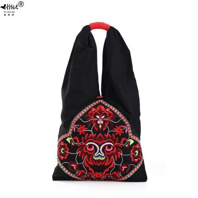 Nieuwe Vintage Borduurwerk Bohemian Schoudertas Tassen Vrouwen Boho Hippie Zigeuner Vrouwen Handtassen Tas Tassen Gratis Verzending