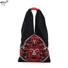 Yeni Vintage nakış Bohemian omuzdan askili çanta çanta kadın Boho hippi çingene kadın çanta çanta çanta ücretsiz kargo