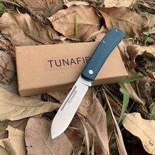Folding Knife Washers Copper TUNAFIRE Fiber-Handle Multi-Function Camping Hot EDC Linen