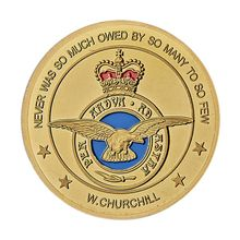 1940-1945 Luxembourg Royal Air Force Challenge Coin Gold Plated Commemorative Coins Home Decor low price coins big discount custom personalized coins wholesale usa challenge coin cheap us military coins