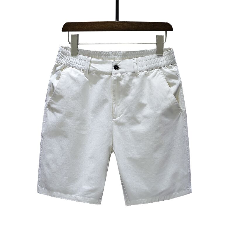 Cotton Men Casual Shorts Summer Fashion Loose Hipster Shorts Pockets Streetwear Stretch Cargo Kleding Vanquish Fitness XX60MS