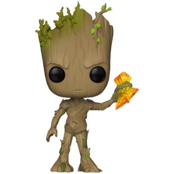 Marvel Guardians of the Galaxy Groot Tree Man with Stormbreaker Vinyl Action Figure Doll Toys image