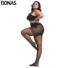 7 pçs/lote 20D Calças Justas Ultra-fino Mulheres Plus Size Calças Tamanho Grande 120kg Queen Size Nylon Meia-calça Meia-calça Sexy Super Elástico