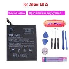 100% New Original Replacement Battery BM36 For Xiaomi Mi 5S Authentic Phone Battery 3200mAh brand new original authentic gro m5b