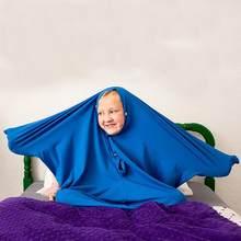 Chaussette sensorielle enveloppante pour tout le corps, pour soulager le Stress, hypoallersensibilité, l'anxiété, extensible, sûr, confortable, respirant, pour garçons et filles