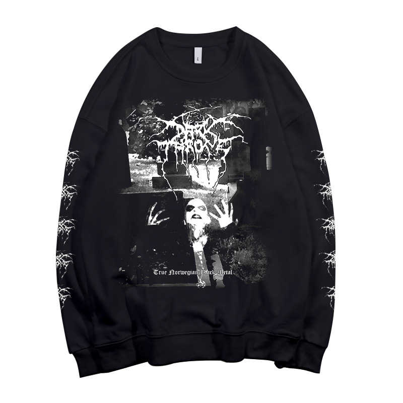 6 디자인 노르웨이 밴드 Darkthrone Pollover 운동복 rock hoodie 헤비 데스 메탈 스다 데라 로커 streetwear fleece Outerwear