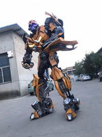 Transformers live Wearable robot clothing Cos props Bumblebee The Beatles Stage costume Performing props Cosplay