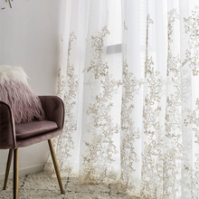 Luxury Yarn Embroidered 3D Screens Princess Tulle Curtains for Bedroom Romantic Sheer Children #8217 s Room Window Decoration cheap Super Household Perspective Left and Right Biparting Open Living Room Ceiling Installation Flat Window Pastoral Woven home