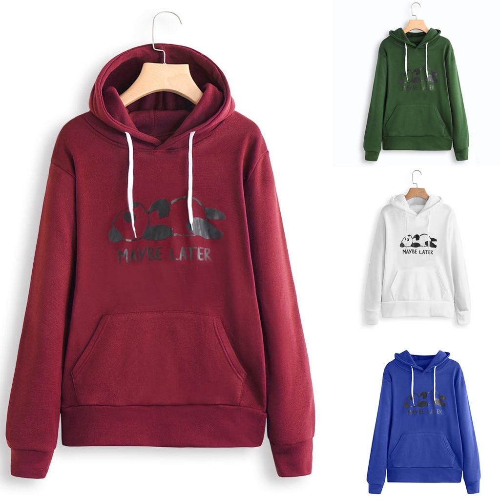 Women Long Sleeve Print  Casual hoodies women Sweatshirt Pullover Top Blouse sudadera mujer bluza damska bluzy damskie moletom