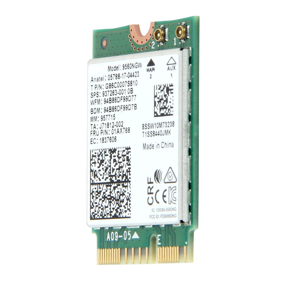 Dual-Band-1-73Gbps-Wireless-For-Intel-AC-9560-9560NGW-NGFF-Key-E-Wifi-Card-9560AC