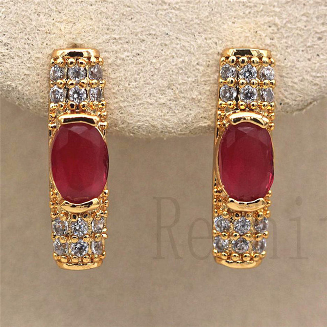 Luxury Hoop Earrings Gold Filled Rainbow Red Green Zircon Earring Vintage Jewelry for Party Wedding Anniversary.jpg 640x640 - Luxury Hoop Earrings Gold Filled Rainbow Red Green Zircon Earring Vintage Jewelry for Party Wedding Anniversary Engagement Gift