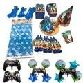 Новинка, набор украшений для вечевечерние со звездами, Леон, Шипованная игра, украшения на день рождения, детская вечеринка для мальчиков