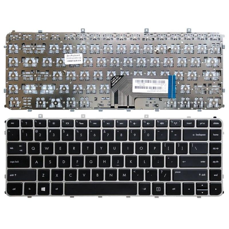 Novo teclado portátil eua para hp envy 4 envy 6 Envy4-1000 envy6-1000 envy 4-1200 teclado inglês