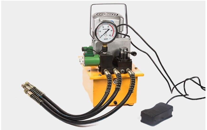 Pompe hydraulique grande huile avec Instrument pompe électrique ZCB-700D-3