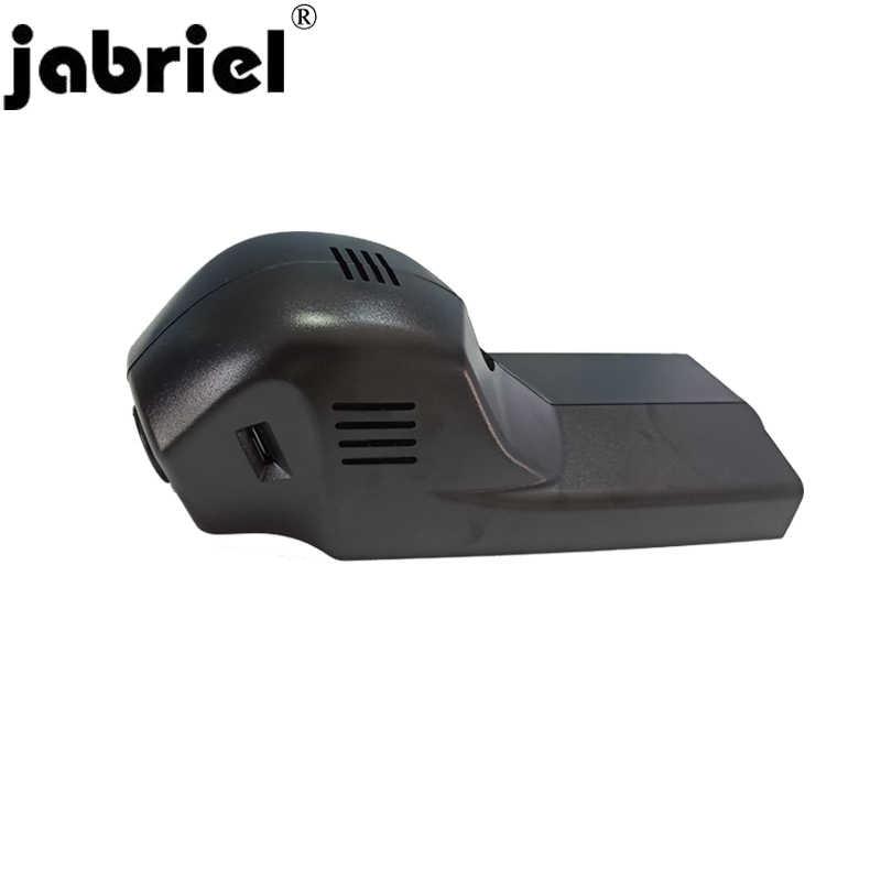 Jabriel Ẩn 1080P Camera 24 Giờ Đầu ghi DVR Dash Cam hai ống kính cho XE BMW 1/3/ 5/X1/X3/X5 F10 F15 F20 F25 F30 F40 F48 G30