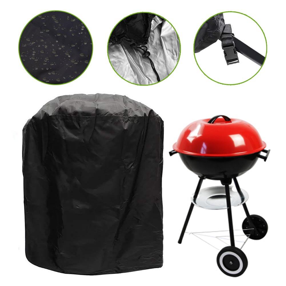 KETTLE BARBECUE COVER BBQ WEATHERPROOF PROTECTION GARDEN STORAGE GREEN GRILL