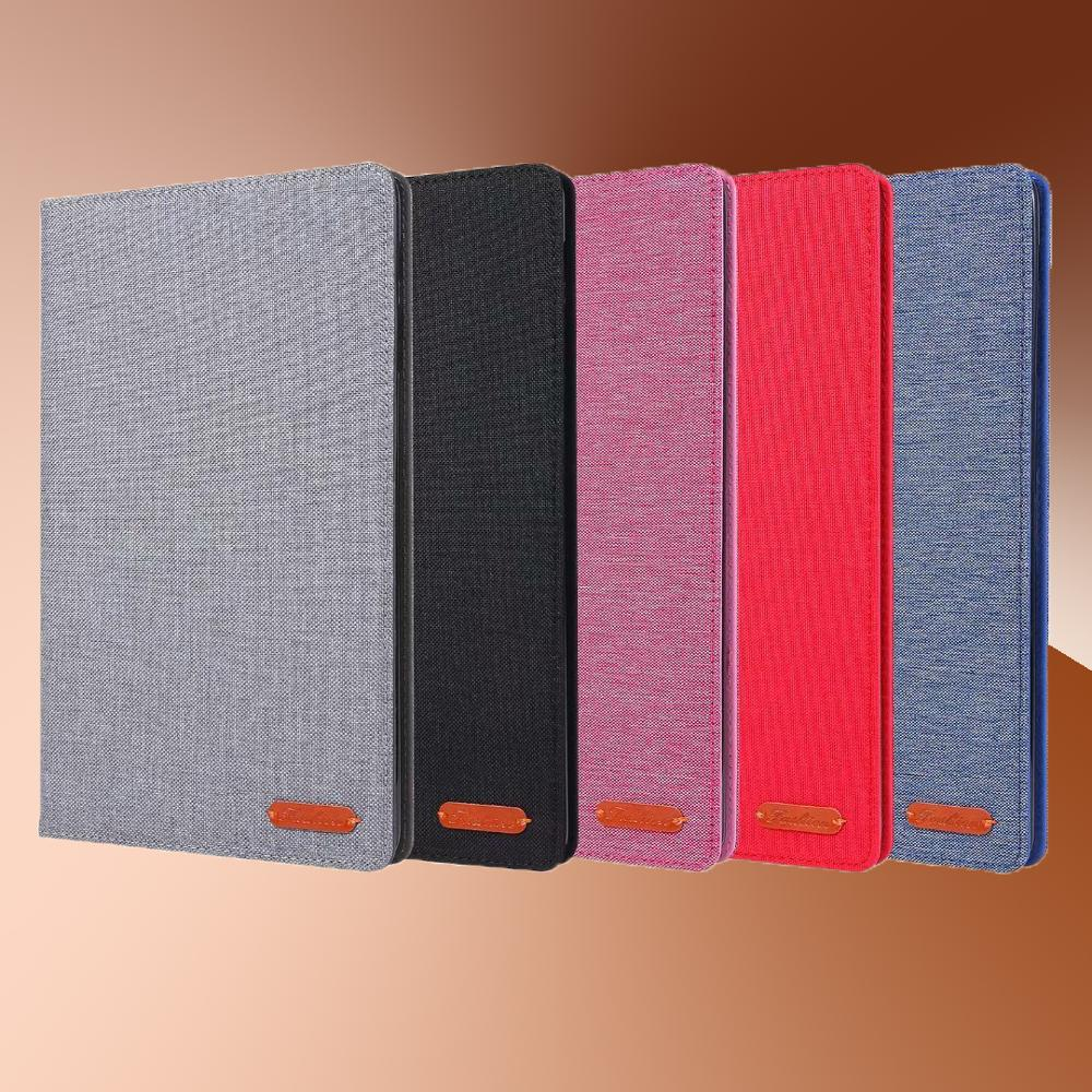 Textile Cloth Tablet Case For Samsung Galaxy Tab A10.1