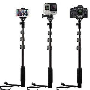 Image 4 - Портативная телескопическая селфи палка Yunteng 188, портативный монопод для камеры, штатив для iPhone 12 XS Max XR X HUAWEI MI