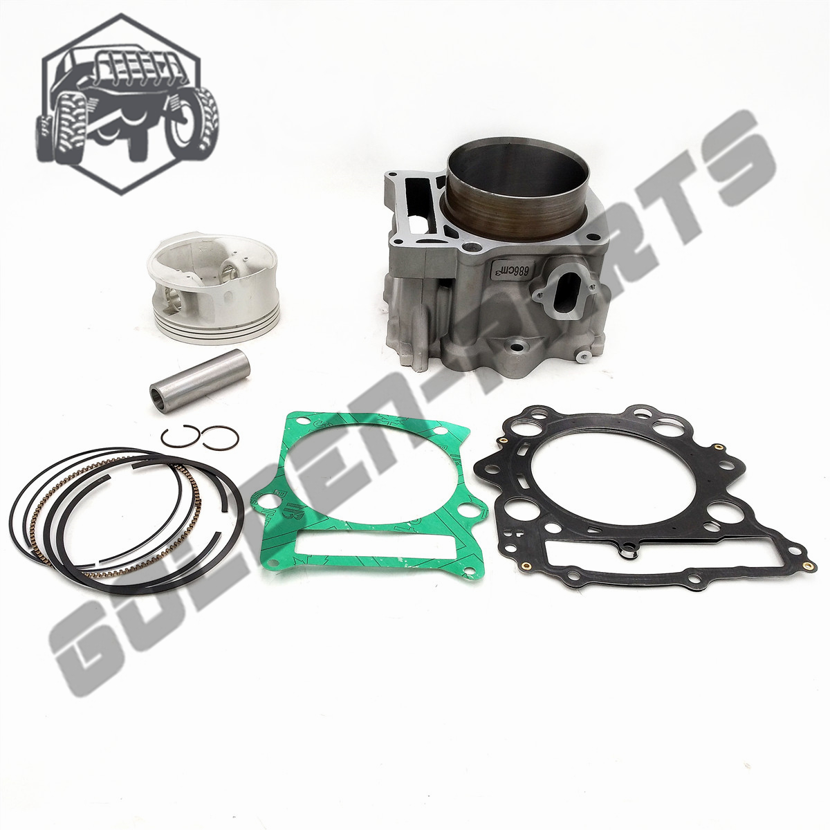 KUOQIAN HISUN Parts HS700cc HS 700 Cylinder Assy Piston Kit Rings For Hisun 700cc HS700 ATV UTV Parts High Quality-in ATV Parts & Accessories from Automobiles & Motorcycles    1