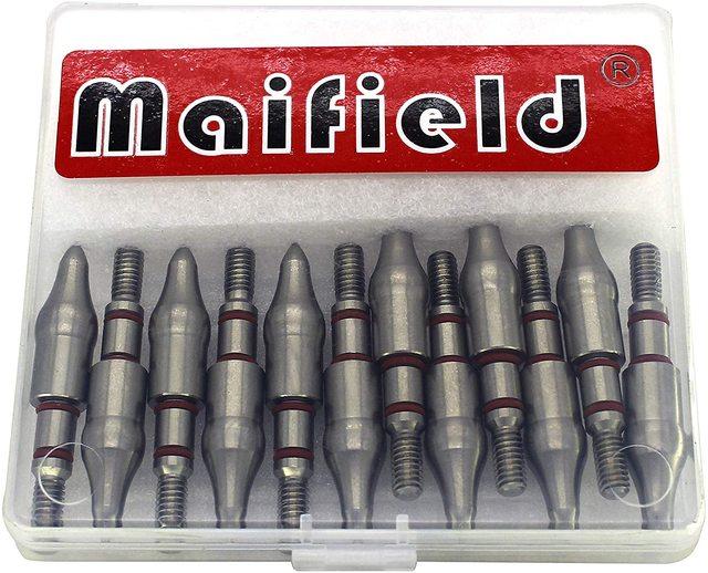 maifield из нержавеющей стали для стрельбы лука очки легко тянутся фотография