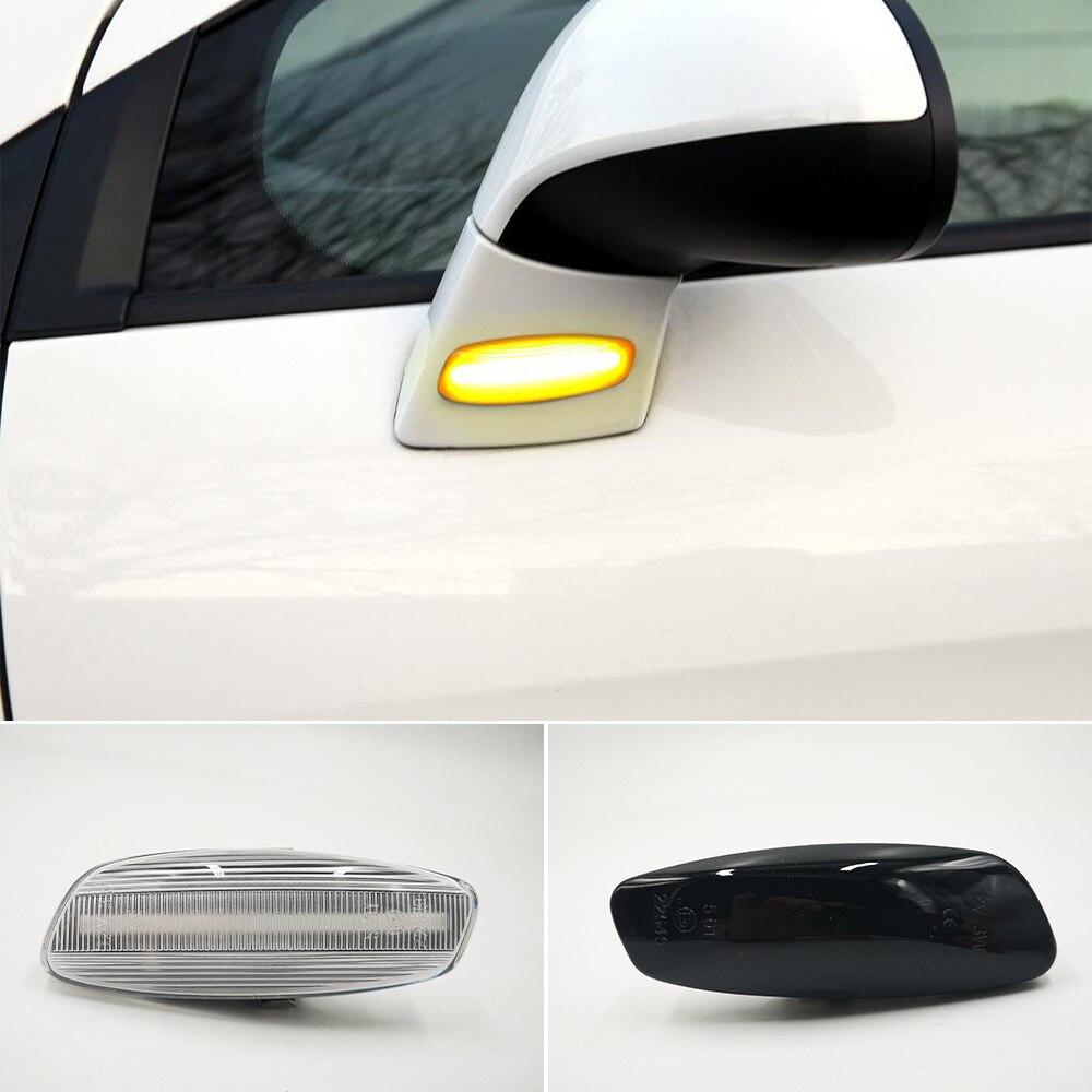 1 комплект динамический светодиодные, боковые, габаритные фонари указателя поворота мигалка для Citroen C3 C4 C5 DS3 DS4 для Peugeot 207 308 3008 5008 RCZ|Сигнальная лампа|   | АлиЭкспресс