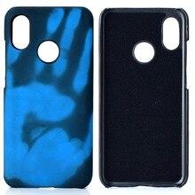 Thermal Induction Discolored Phone Case for Xiaomi8 9SE Mi9 Mi10 Note10 pro lite Redmi7 8 9A 10X Note6 Pro K20 TPU Back Cover