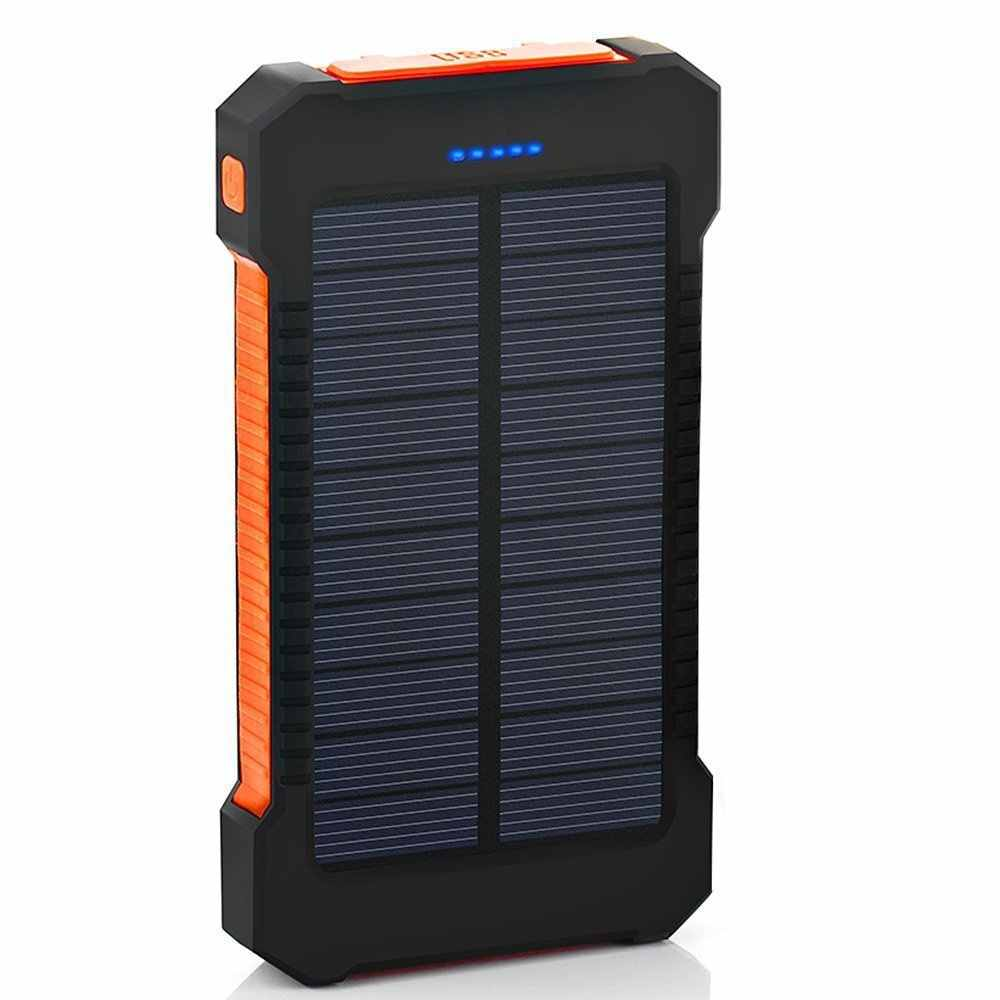 30000mah Solar Power Bank Externe Batterie Tragbare Lade Lade PoverBank Power für Samsung xiaomi iphone