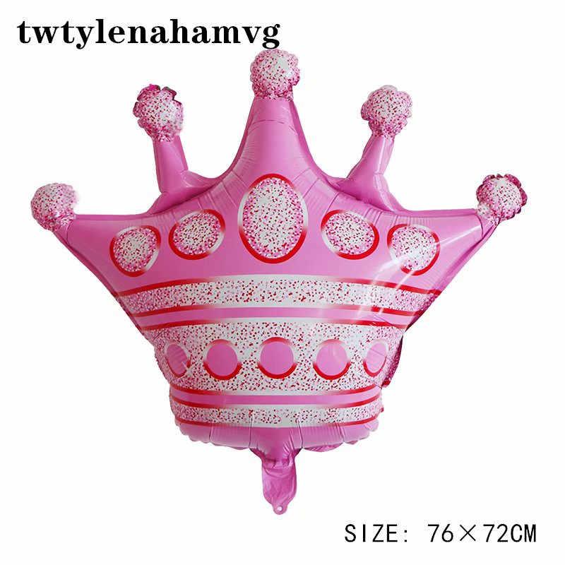 Rose bleu grande couronne feuille ballon Mini or fête d'anniversaire fête des mères noël scène Arrangement ballons enfant jouet gonflable