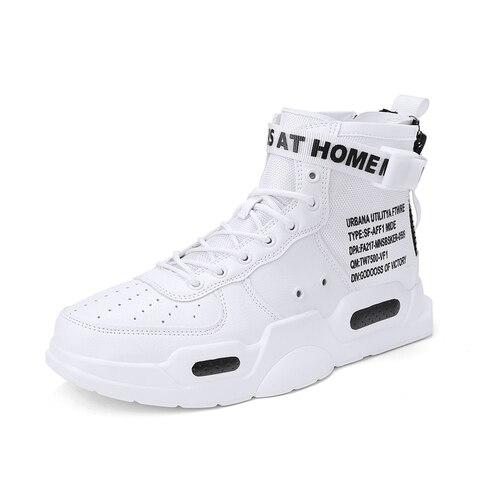 Super popular winter plush sneakers man sport shoes high top warm shoes men outdoor skateboarding shoes male footwear plus 39-45 Multan