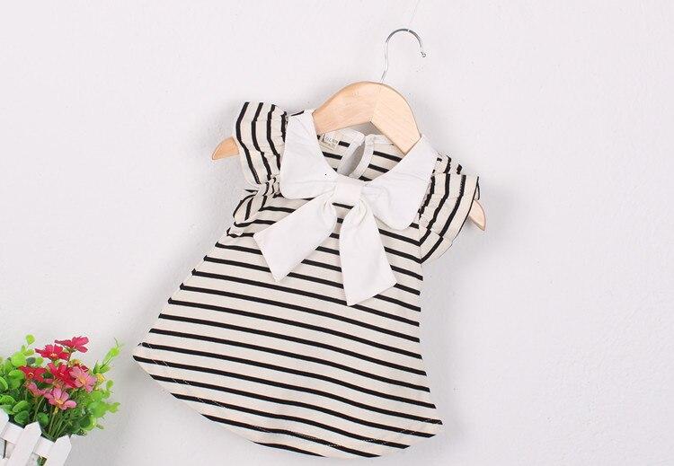 Hff649ee1fbb24fd99f2ae0aad958aa33f Girls Dress 2018 Summer Explosion Solid Color Denim Dress Cartoon Polka Dot Bow Cartoon Bunny Satchel Korean Baby Cute Dress