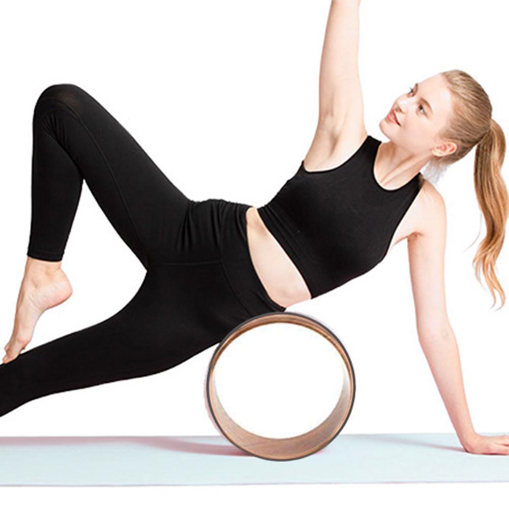 Roda Roda de Fitness Yoga Cortiça Natural