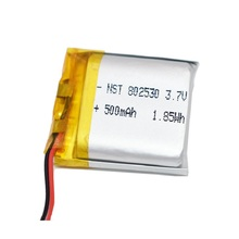 TOY 700mah Lithium-Ion/li-Ion-Battery for Power-Bank GPS Mp3 Mp4 802530-Polymer