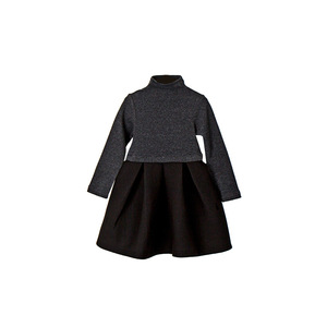 Image 5 - 2020 New Autumn Brand Baby Girl Dress Children Ball Gown Dress Kids Cotton Dress Toddler Long Sleeve Dress, #3246