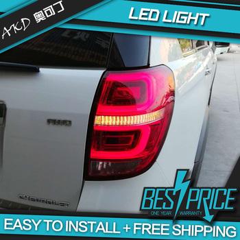 AKD tuning cars światła tylne dla chevroleta Captiva tylne światła LED DRL światła do jazdy światła przeciwmgielne anielskie oczy tylne światła parkowania tanie i dobre opinie Zespół światła tylnego CN (pochodzenie) 11inch LED Taillight 12 v