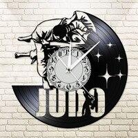 الجودو رمي موردن الفينيل ساعة حائط اليابانية الدفاع عن النفس ثلاثية الأبعاد ساعة كوارتز Jujitsu خمر تصميم ساعة حائط مضيئة فريق هدية