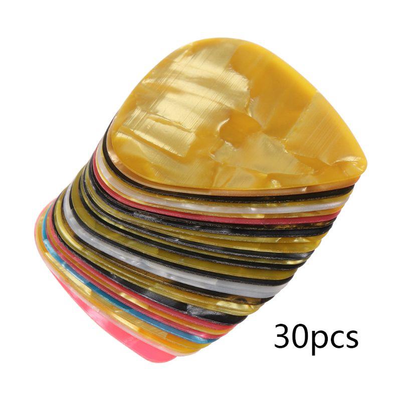 30Pcs Ultra Thin Slim Plastic Guitar Picks For IPhone Pry Opening Tool Mobile Phone Laptop Repair Hand Tools Kit