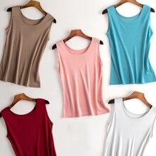 Tank top undershirt women 100% Natural silk sleeveless