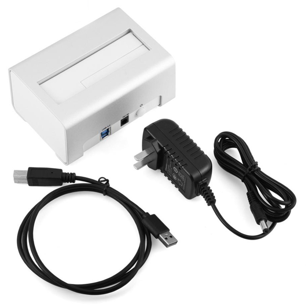 OIMASTER US Plug USAP HDD Docking Station 5Gbps Super Speed USB 3.0 To SATA Hard Drive Docking Station For 2.5 Inch/ 3.5 I