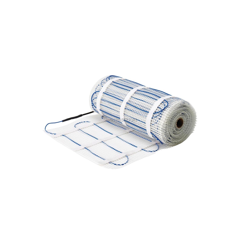 3M2 150W/M2 Floor Heating Mat 0.5mX6m For Bath Room 220V 450W With Choice Thermostat