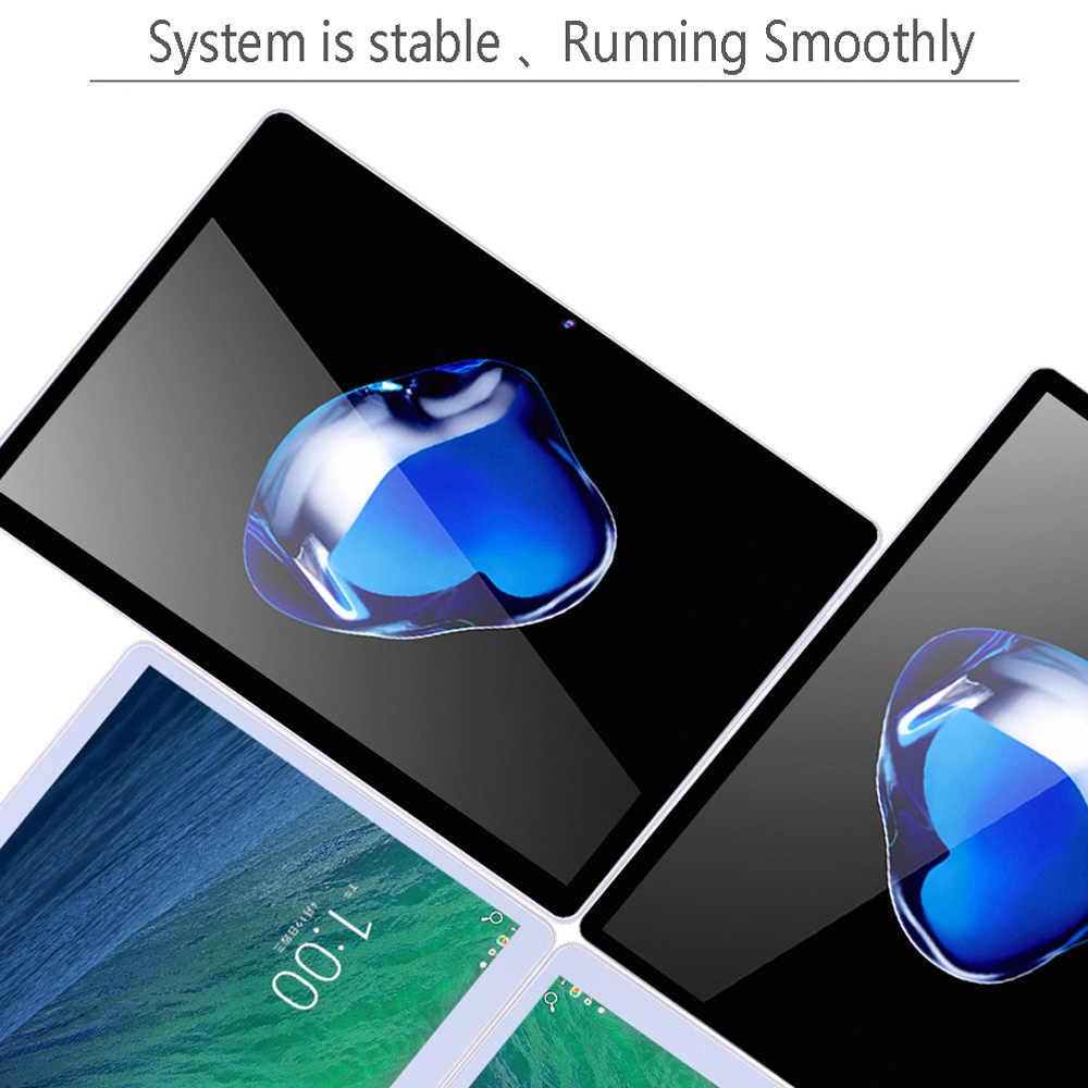 Mới Chính Hãng Máy Tính Bảng 10 inch PC Octa Core 3G Nghe Gọi Điện Thoại Google Thị Trường GPS Wifi FM Bluetooth 10.1 Viên 4G + 64G Android 7.0 Tab